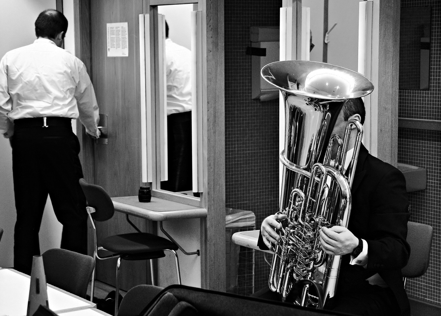 backstage Kölner Philharmonie